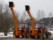 экскаваторы-погрузчики на базе беларус-92П