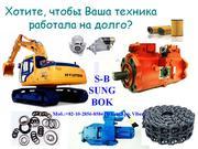Цилиндры  для Экскаватора марки: Doosan,  Hyundai,  Samsung,  Volvo