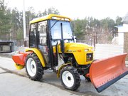 Трактор,  минитрактор,  мульчер,  щепорез,  снегоуборщик