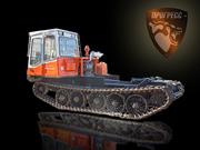 Купить гусеничное шасси Алтайского трелевочного трактора МСН-10 (ТТ-4М).