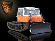 Купить гусеничное шасси трелевочника МСН-10-003. Трехместная кабина.