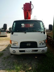 Автовышка Hyundai Mighty
