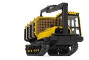 Форвардер МТБ-18 гусеничный трактор Лесозаготовительная техника