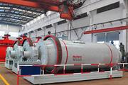 Барабанно-шаровая мельница 900 мм